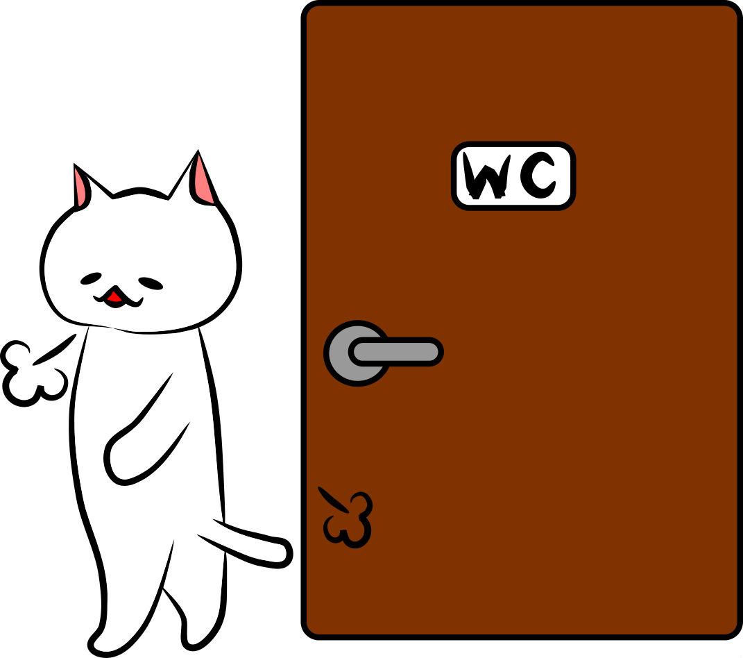 ニャンとも清潔トイレがすごい 猫トイレの砂の飛び散り防止 砂にかび
