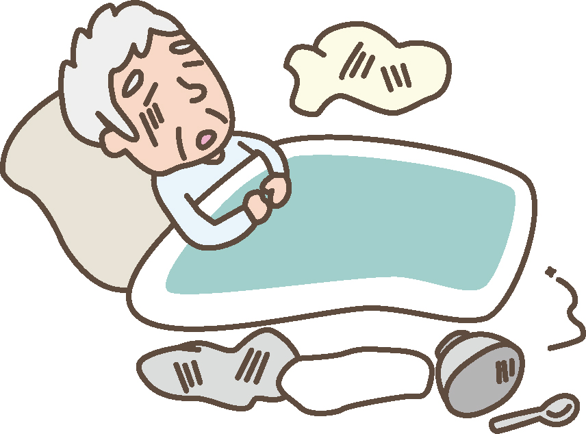 父の病状 肺炎併発 寝たきりでも筋力を維持するために