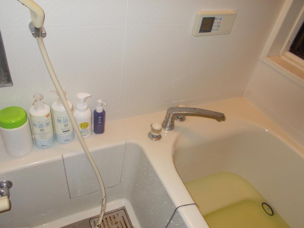 入浴剤を入れてお風呂に入りたくなって