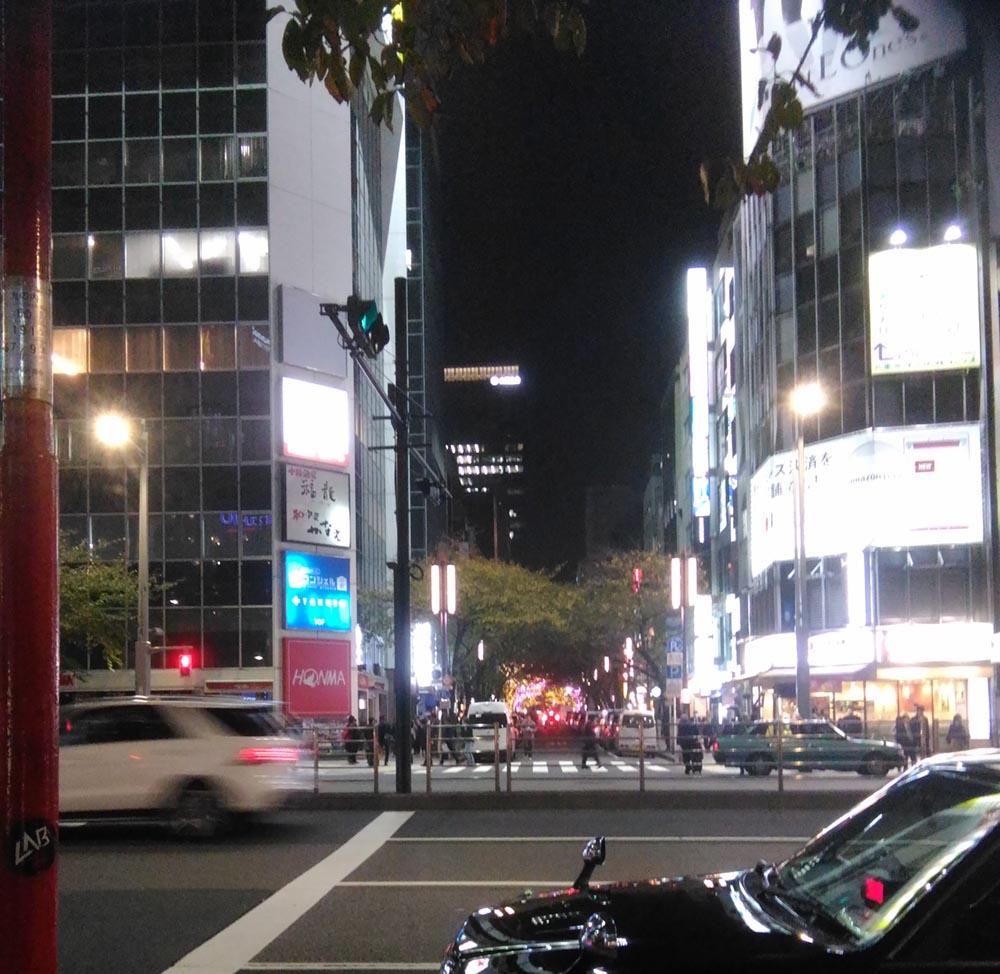 東京からの帰りは夜行バスで 激安でした